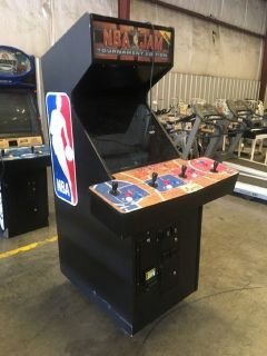 NBA Jam Arcade Game w/Dollar Bill Acceptor RTR# 9023897-04