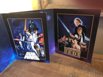 Set of 2 Star Wars Lithographs