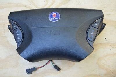 Buy 98-05 SAAB 9-5 SEDAN AIRBAG DRIVER SIDE STEERING WHEEL AIR BAG OEM SRS LEFT LH motorcycle in Cumming, Georgia, United States, for US $44.94