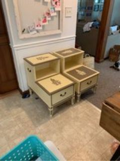 End table/night stand set