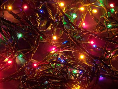 6 1/2 Strings of Multi Color Christmas Lights