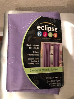 New Eclipse blackout curtain