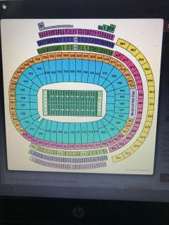 2 tickets Packers vs. Chicago Bears