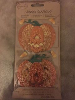 NEW Jolee s Boutique Pumpkin Dimensional Stickers