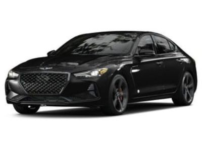 2019 Genesis G70 2.0T Advanced (Victoria Black)