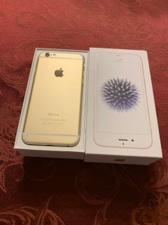 Gold IPhone 6 must use smart talk phone service