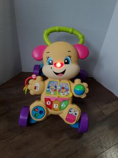 Fisher price stages puppy Walker works batteries included