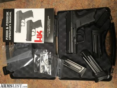 For Trade: HK P2000SK
