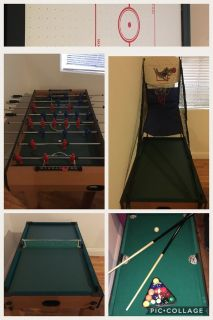 5 in 1 Combination Game Table