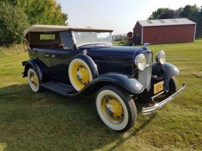 1932 Ford Deluxe Phaeton Model 18