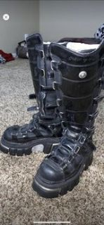 New Rock Gothic Boots