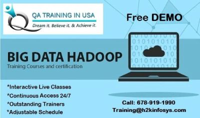 The Best Hadoop Online Training in USA with Job Support