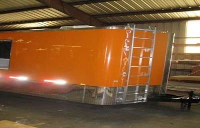8.5x24 Concession/ Enclosed Trailer - 632c