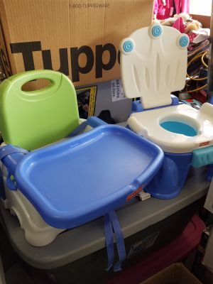 Fisher Price booster seat and potty seat