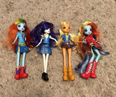 My Little Pony Equestria Girls, GUC. Plus two that have no clothes