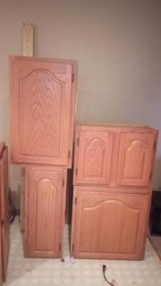 Kitchen cabinets. Tops and bottoms