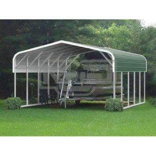 Metal Carport Kits To Construct Steel Shelter With Storage