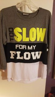 Too Sliw for my flow shirt - 3x