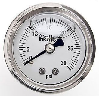 Find Holley 26-506 Fuel Pressure Gauge 2 Diameter 0-160 PSI Liquid Filled motorcycle in Delaware, Ohio, United States, for US $29.95