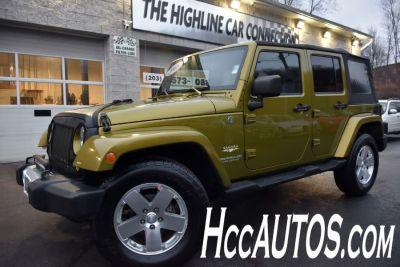 2008 Jeep Wrangler Unlimited Sahara (Rescue Green Metallic)