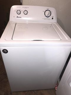 Amana Washer and Dryer