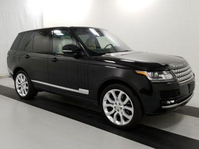 2015 Land Rover Range Rover 4WD 4dr Supercharged (Barolo Black Metallic)