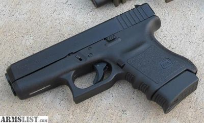 For Sale: Glock 36 - MINT Night Sights, EXTRAS