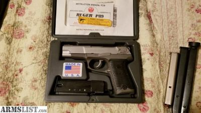 For Sale: Ruger P89 9mm + more