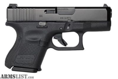 """For Sale: NEW GLOCK G26 G5 9MM 10+1 3.46"""" FS"""