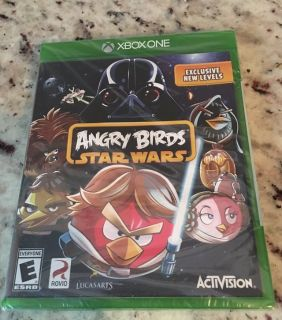 Brand new Xbox 1 angry bird Star Wars games