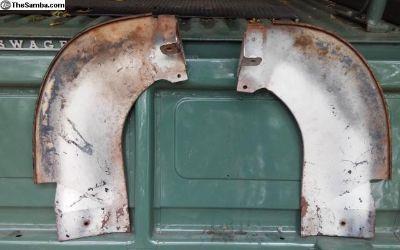 Rear bumper slash guards