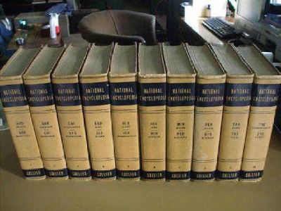 $500 The National Encyclopedia by P.F. Collier Son New York 1942 FULL SET
