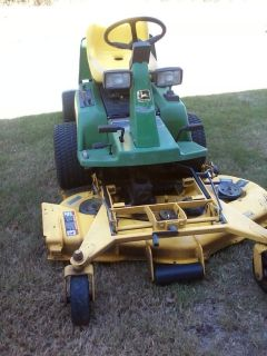 F725 John Deere Riding Mower