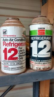 R-12. two cans