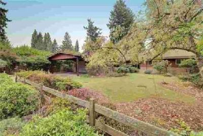 10540 20th Ave NE Seattle Three BR, Classic mid-century home on