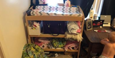 Changing table , cover, pad