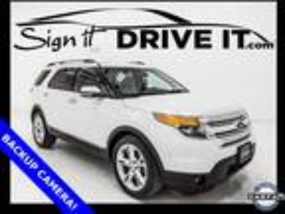 2014 Ford Explorer Limited - BACKUP CAMERA, BLUETOOTH, THIRD ROW SEATING!
