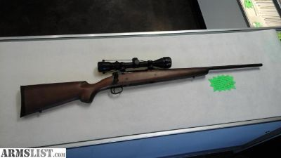For Sale: Savage Axis, .308 Win, Bolt Action, 3-9x40 Scope, Detachable Box Mag, Wood Stock - LIKE NEW!