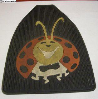 Bug Floor Mat Passenger Side Front Lady Bug