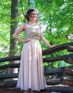 Gorgeous Formal Gown- Fits size 6/8