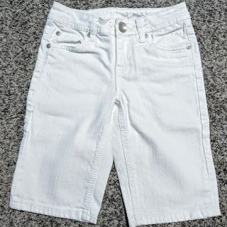 Justice White Jean Shorts Size 8