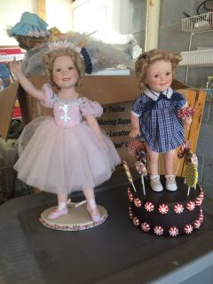Shirley Temple doll's