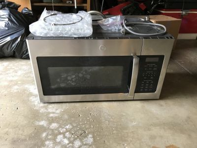 GE over a range Microwave Oven