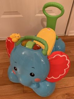 Fisher Price 3-in-1 Ride On Elephant