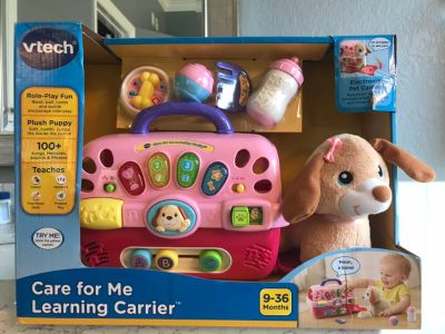 Vtech puppy carrier - brand new