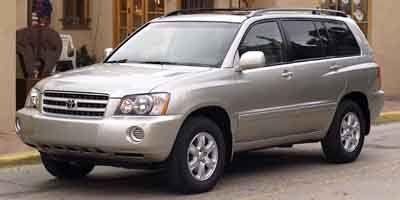 2002 Toyota Highlander Base (Not Given)