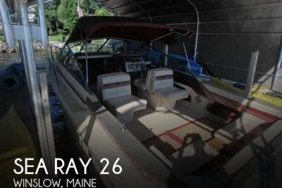 1985 Sea Ray Amberjack SRV255