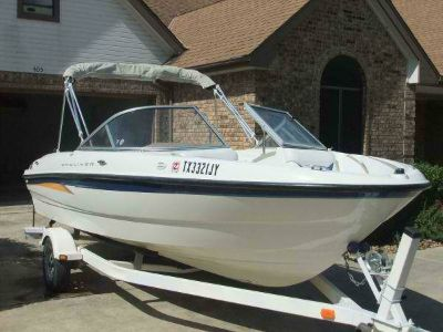 bayliner with trailer and new engine (pflugerville)