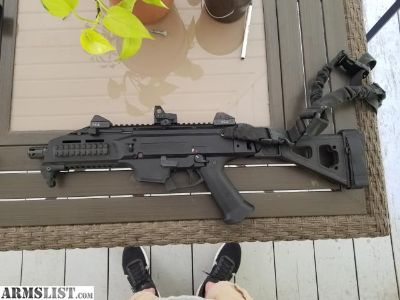 For Sale: CZ Scorpion 9mm with SB Tactical arm brace and Romeo1 reflex sight