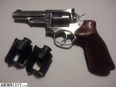 For Sale: Ruger Match Champion GP100 (357/38)